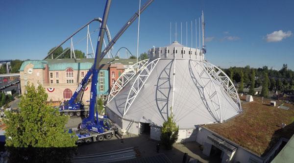 dome - Zeltbauten - Tengen